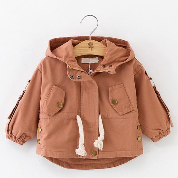 Baby filles enfants volants Vent Trench-coat à capuche Vêtements Dress Up Vêtements