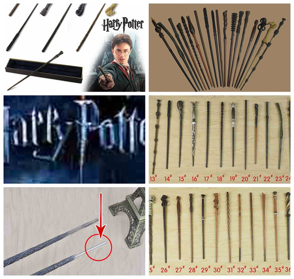 48 Design Harry Potter Wand With Gift Box Metal Core Magic Wand Hermione Granger Harry Potter Magic Wand