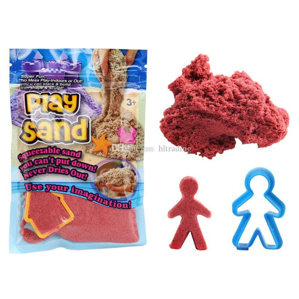 DIY Magic Colorful Play Sand Handmade Clay Christmas Gift Amazing Outdoor Indoor Safe 100g/Bag Kids Toy Space multicolour sand C5120