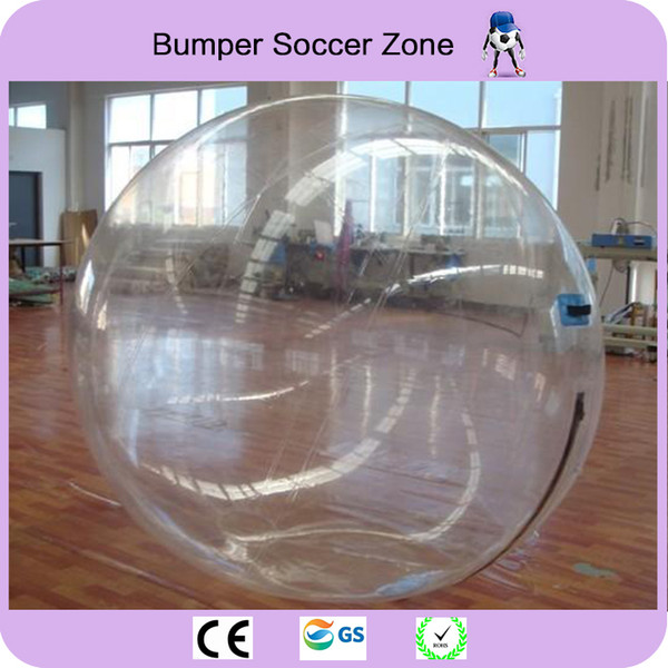 Free Shipping Water Walking Ball 2M Diameter 0.8mm PVC Inflatable Water Walk Zorb Ball Inflatable Human Hamster Ball