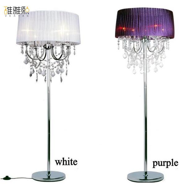 Abat-jour 14 couleurs 4 ampoule porte-lampe tissu abat-jour luminaire lampadaire