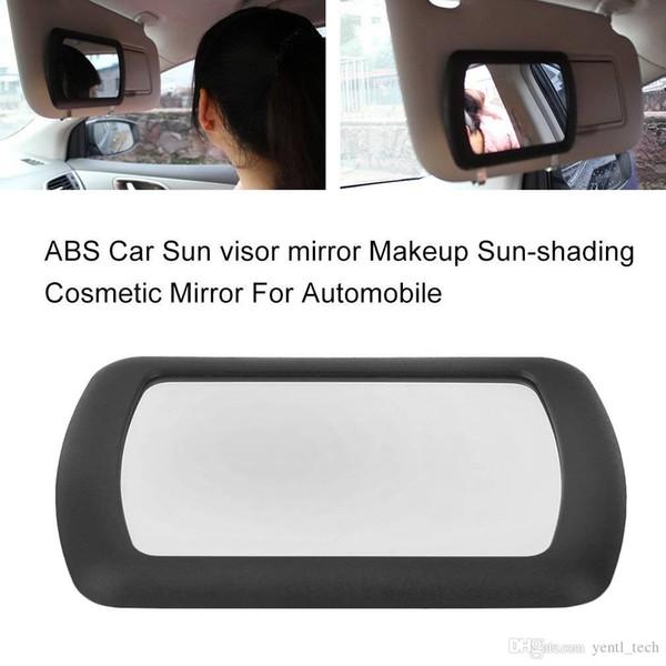 Free shipping yentl Sun visor Large Makeup Sun-shading car Cosmetic Vanity Mirror Auto Sun-shading Cosmetic Mirror For Automobile Make Up