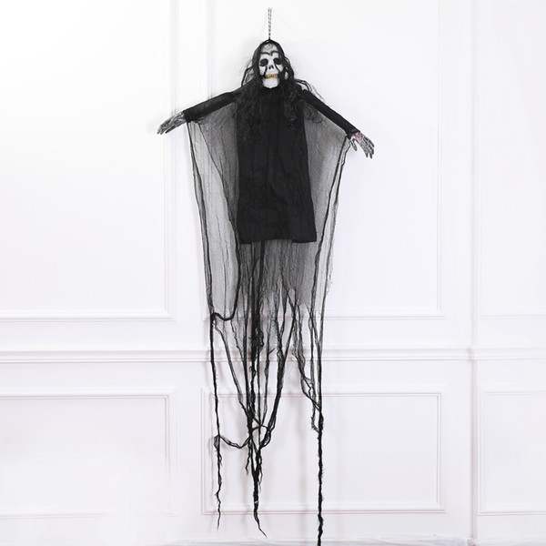 Creepy Scary Skeleton Ghost Props Halloween Party Horror Scene Decoration halloween decoration home decor Decoration