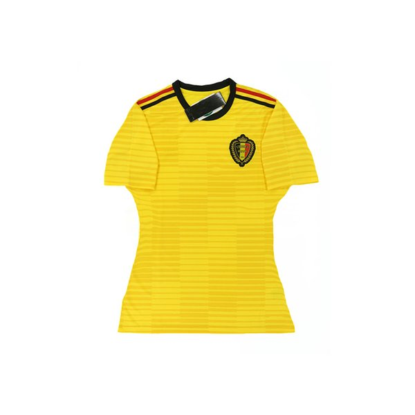 DHL Free Shipping Thailand Quality 2018 World Cup Women Jersey Belgium Home  Red And Away Yellow be644321a