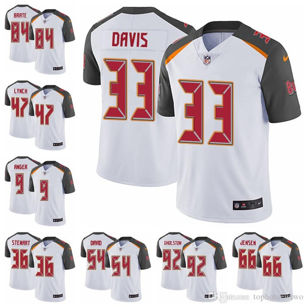 online retailer dfbff 0d7fa 2018 Tampa Bay Limited Road Football Jersey Buccaneers White Vapor  Untouchable 3 Jameis Winston 13 Mike Evans 22 Doug Martin 15 From  Ptbunion5, $30.05 ...