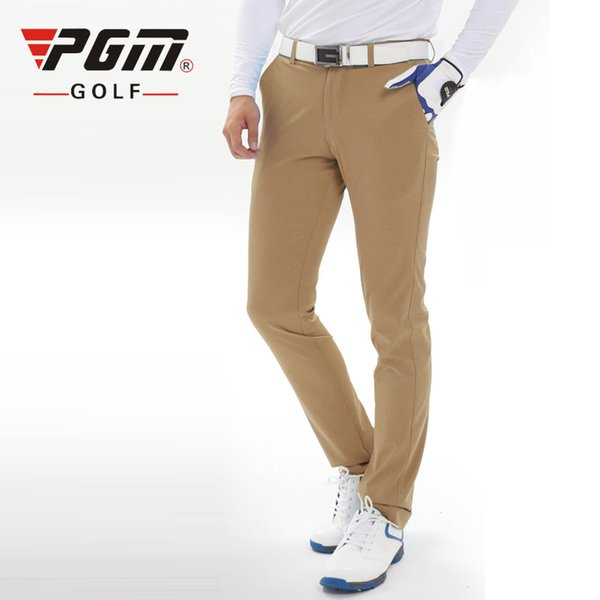 PGM Colorful Golf Pants For Men Solid Nylon Fall Breathable Man's Golf Sports Pants Trousers Clothes Free Shipping