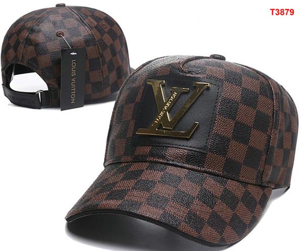 6144c5e05a Pannello all'ingrosso diamante Mesh snapback caps L V hip hop berretto  piatto cappello di lusso