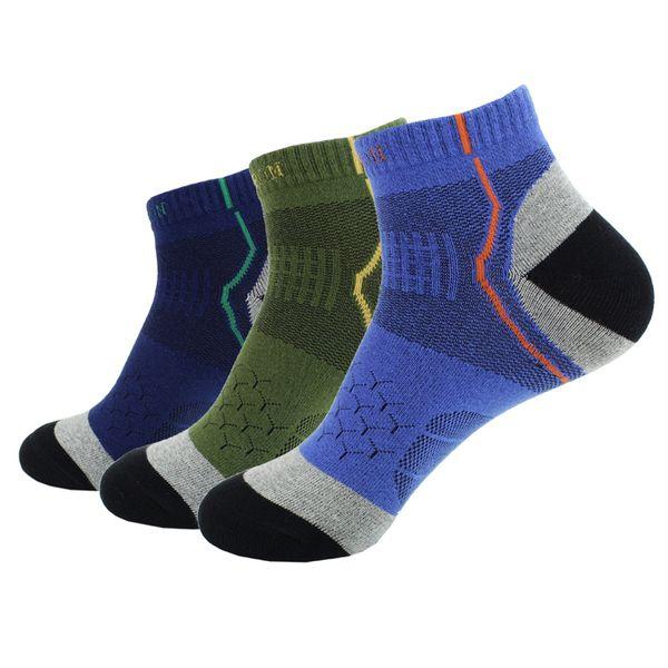 1 Pairs Men's Professional Sport Socks Breathable Running Socks Climbing Hiking Football Basketball Soccer Socks