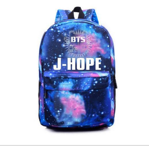 Al por mayor- Bangtan Boys BTS mochila, korean kpop estrellas bolso de escuela, niños niñas libro portátil cartera, V, Rap Monster, JIN, SUGA