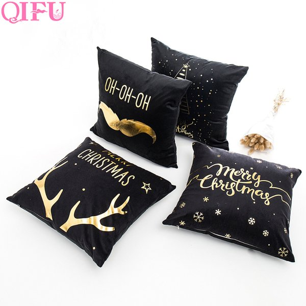 QIFU Merry Christmas Decorations for Home 2018 Happy New Year 2019 Baby Christmas Ornaments Santa Claus Product Gift
