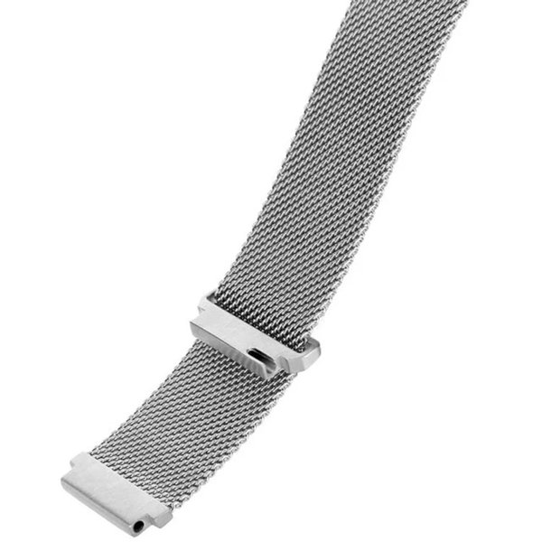 Stainless Steel Mesh Milanese Loop 18mm Watch Band Strap for Huawei Watch 1 Wristwatch Magnetic Bracelet I68.