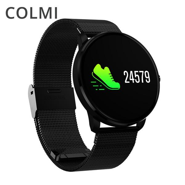 COLMI CF007H IPS красочный светодиодный экран IP68 фитнес смарт браслет сердечного ритма кровяное давление Smartband BRIM Часы Браслет
