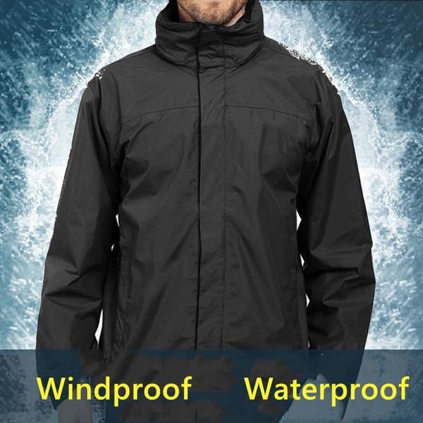 top popular Hoodies Windproof and waterproof jacket teens coats letter sports tops Hooded coat men's sport leisure men tops 2019