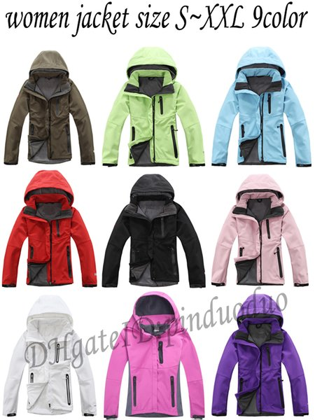 the Sale North womens Denali Apex Bionic Face Jackets Outdoor Casual  SoftShell Warm Waterproof Windproof Breathable Ski Coat 4c5159409