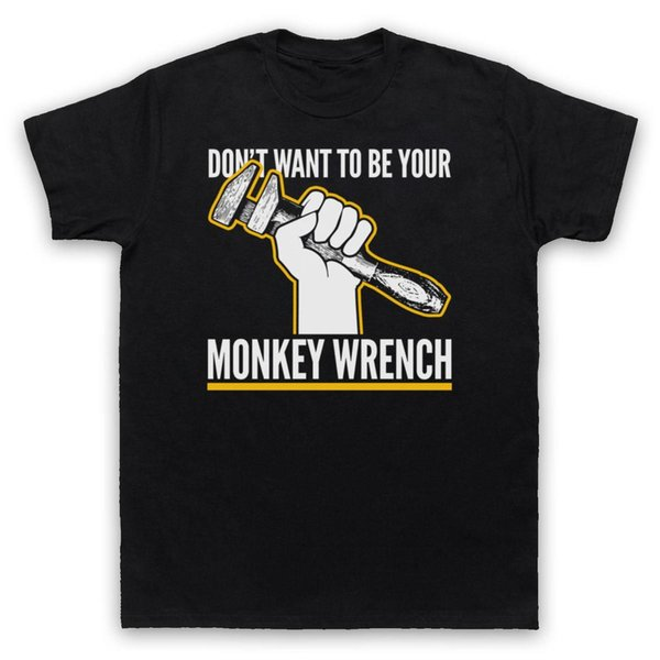 MONKEY WRENCH FOO FIGHTERS T-SHIRT UNOFFICIAL ADULTI BAMBINI TAGLIE DAVE GROHL