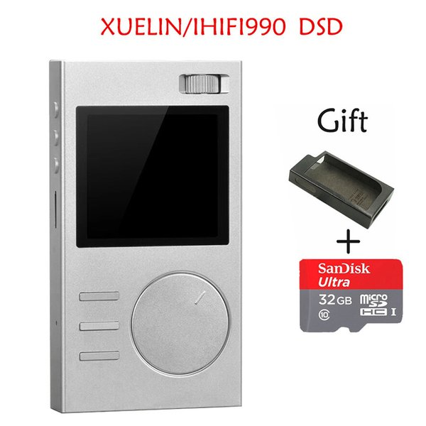 2017 New XUELIN IHIFI990 DSD Portable Lossless Hifi Audio MP3 Music Player With HD OLED Screen Support APE/FLAC/ALAC/WAV/OGG