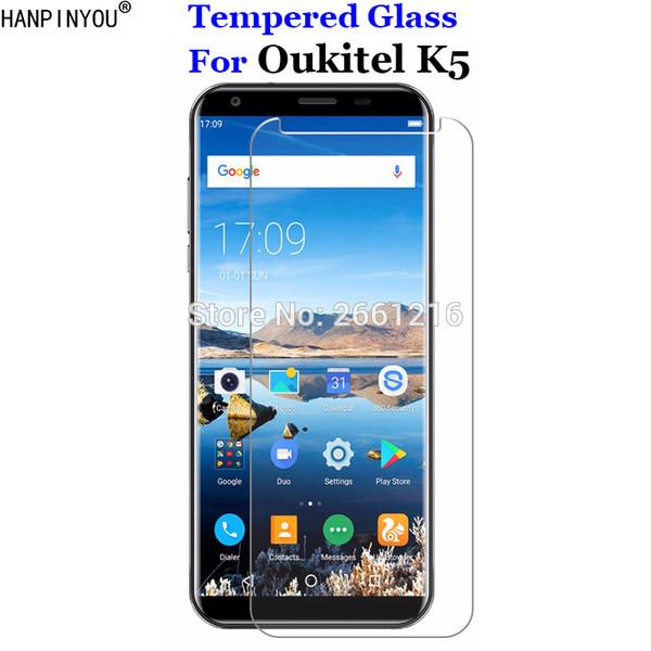 Oukitel K5 için Temperli Cam 9 H 2.5D Oukitel K 5 Için Ekran Koruyucu Film 5.7