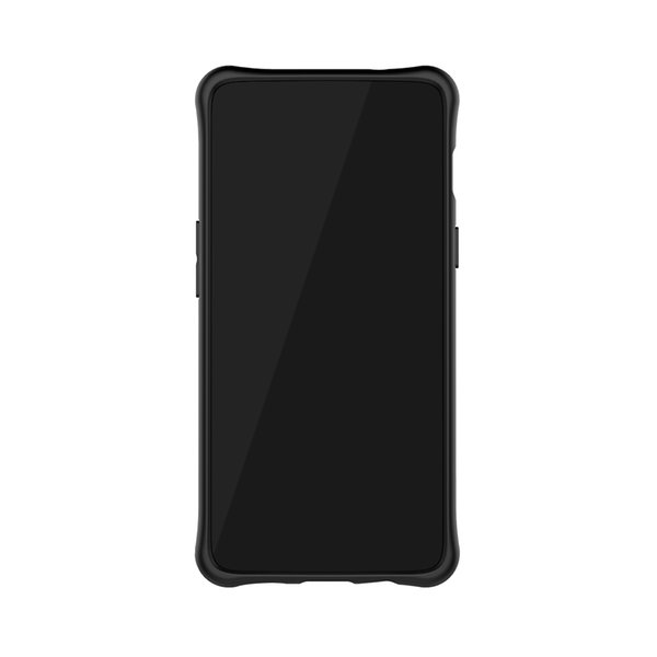 mobile cell phone Sniper Hybrid Robot Armor ShockProof 360 Kickstand Back Soft Case Cover For oneplus 6