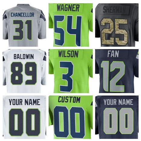 check out a3f8e 3c9a6 2018 Seattle 12th Fan Seahawk Jersey Earl Thomas Iii Tyler Lockett Vapor  Untouchable Color Rush Limited Shaquem Griffin American Football Jerseys  From ...