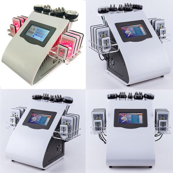 Lipo Laser Slimming Machine 40K Ultrasonic Liposuction Cavitation Fat Burning RF Face Skin Care Body Vacuum Beauty Weight Loss Machine