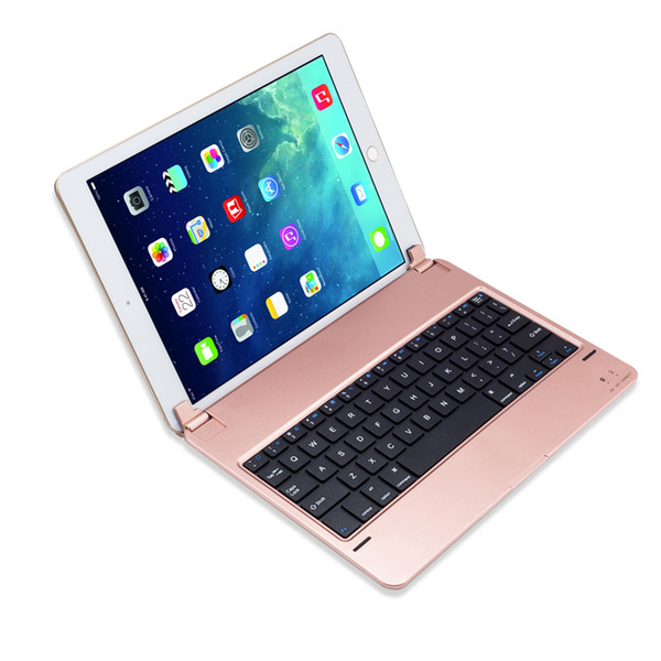 Bluetooth-Tastatur-ultra dünne ABS-Aluminiumlegierungs-Tastatur-Abdeckung für iPad Luft 2 Ipad Pro 9.7