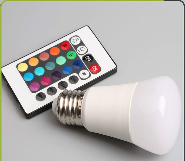 Hot sale in European and American quality 3W LED bulb lamp RGB smart home bulb E27 energy saving led bulb