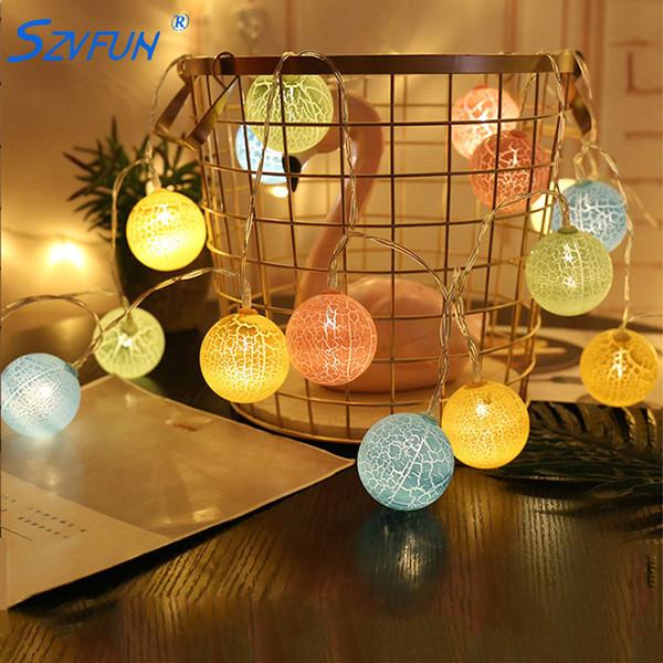 Christmas Light Balls.Light Balls Led String Lights Battery Garland Star Cloud Dia 6cm Led Ball Light String Christmas Wedding Decoration Lichterkette Battery Powered Led