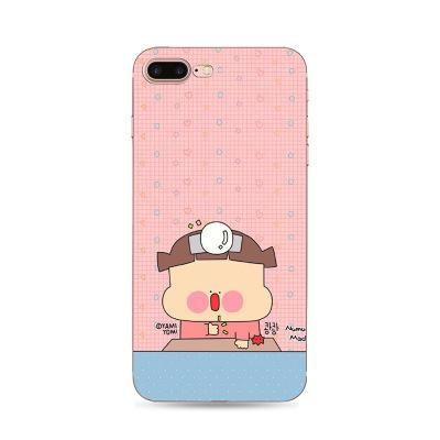 phone shell marble painted phone shell relief soft shell TPU creative art mobile phone sets for iphone X 8 8plus 7 7plus case