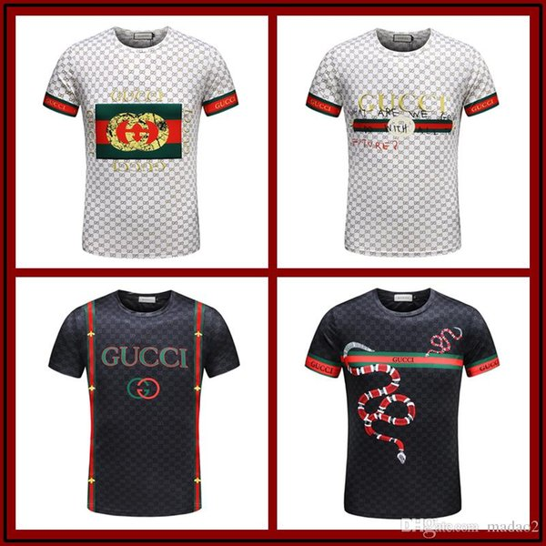 0a882f920 2018 Luxury Mens Designer Fashion Men O Neck Shirt New T-Shirt Rally Group B