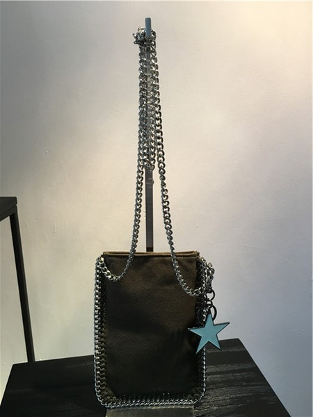 Factory outlet Cell Phone Pocket italy coin purses chain crossbody shoulder bag
