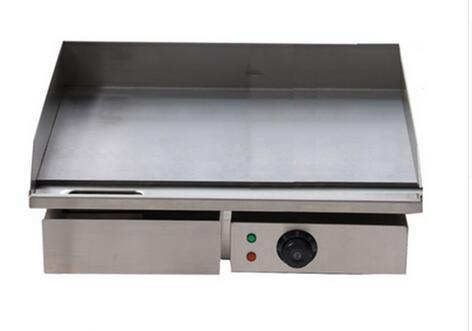 3KW 55CM Electric Griddle Grill Hot Plate Stainless Steel Commercial BBQ Grill fast shipping