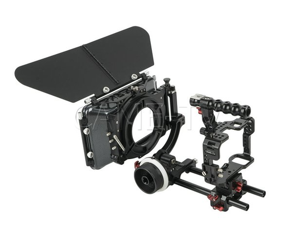 A7S-PACK CAME-TV Protective Cage Plus For A7S & A7R Camera With Mattebox Follow Focus