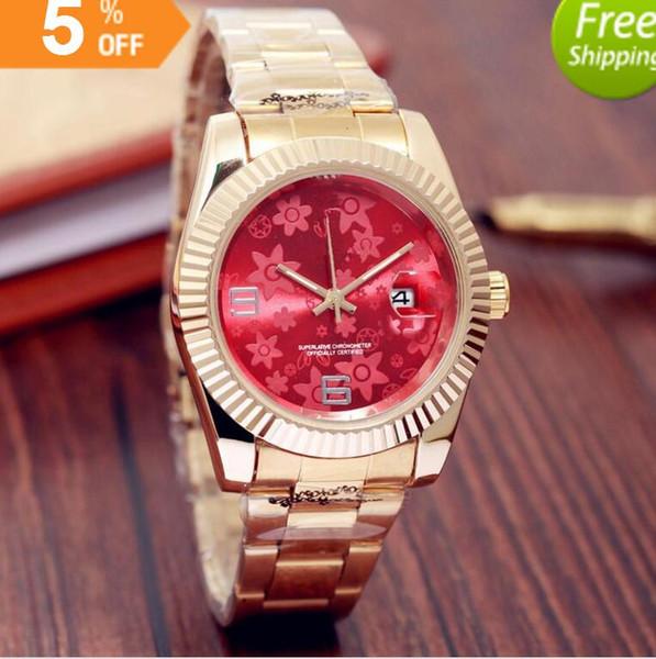 relogio masculino мужские часы класса люкс вист классический красный циферблат с календа