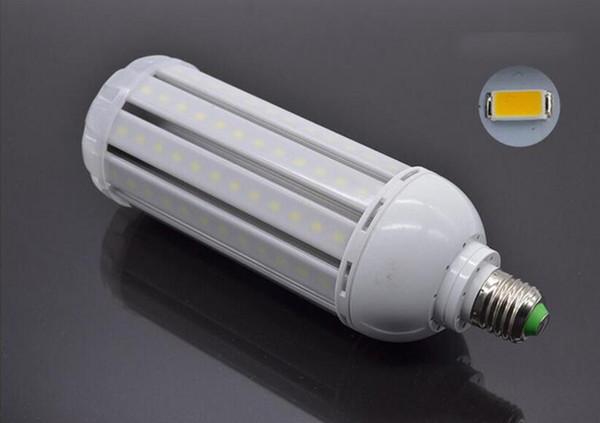 40W Super Bright LED Corn Bulb with Cover Waterproof 220V Screw E27 E40 LED Energy Saving Lamp Light 10pcs
