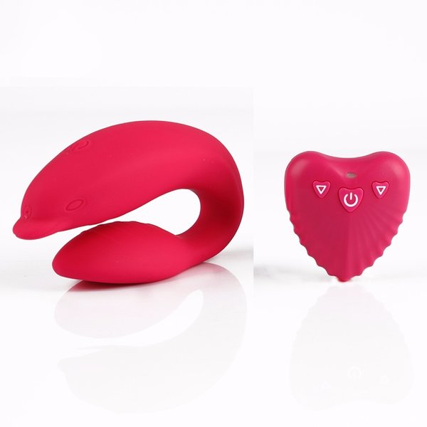 USB Rechargeable Dolphin Vaginal Massage Vibrator Remote Control G Spot Vibrator Clitoris Stimulator Adult Sex Toys For Women A3 Y1892703