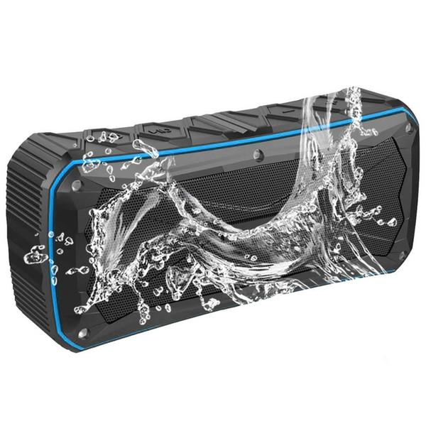 Portable S610 IP66 Waterproof Bluetooth Speaker Outdoor Subwoofer Wireless Music Player Shockproof Dustproof With Power Bank Function