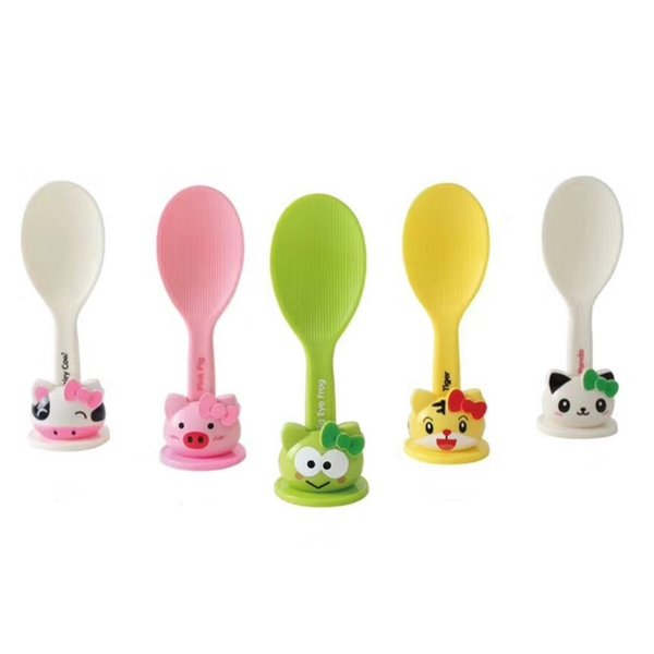 Cartoon Animal Non-stick Rice Spoons Lovely Panda Stand Upright Kitchen Cooking Utensil Tools Home Gadget for Children