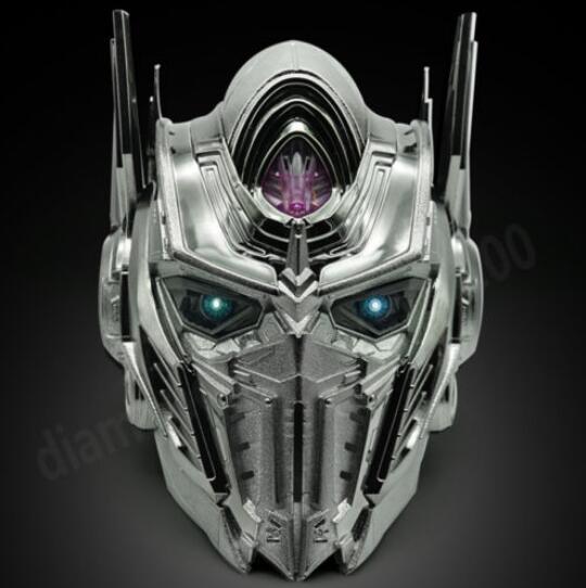 WJ Electronic Talking Voice Changer Helmet MASK Optimus Prime luminou EYES