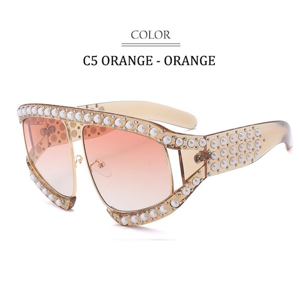 C5 Orange Frame Orange Lens