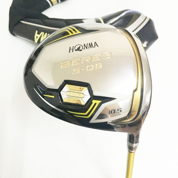 New Golf clubs honma BERES S-06 Golf driver 9.5/10.5 loft Driver clubs Graphite shaft R or S flex Free shipping