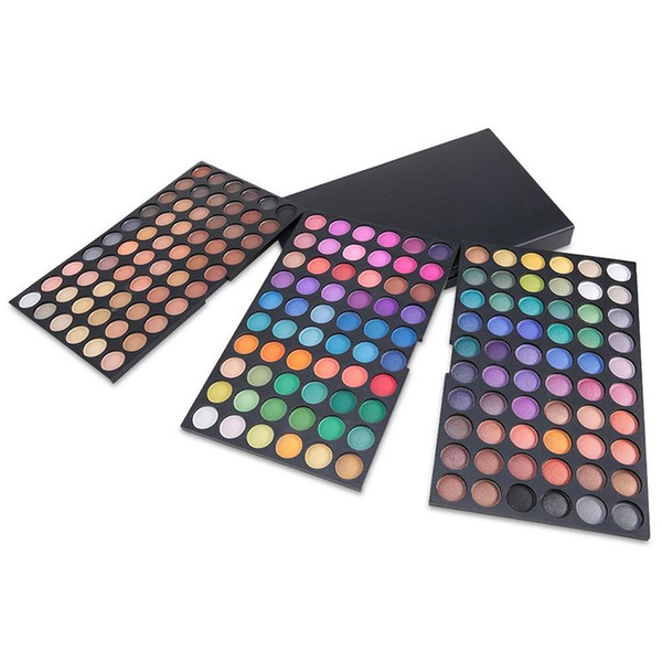 NEW 180 Colors Tender 3 layer colour makeup plate Eyeshadow Palette Comestic Eye Shadow Set Kit dhl free shipping