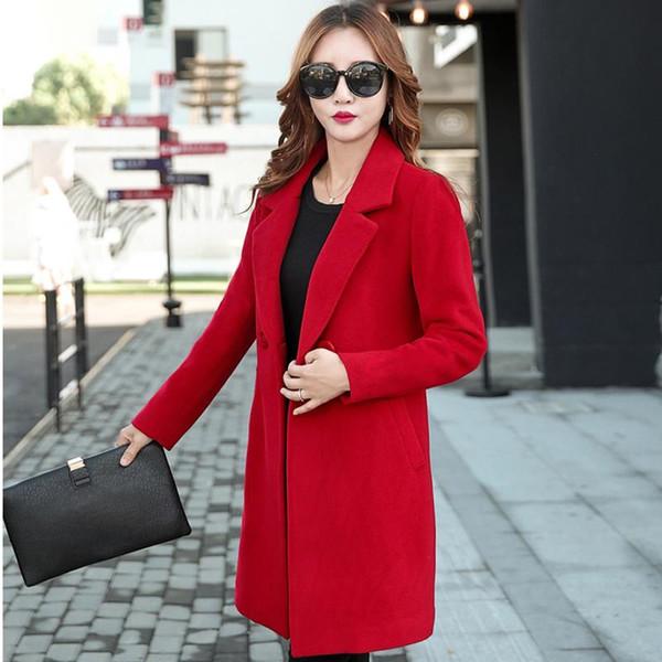 Women Trench Coat Khaki Cotton Windbreakers Long Sleeve Double Breasted Coat Lace Up Loose Long Coat Female Overcoat 2018