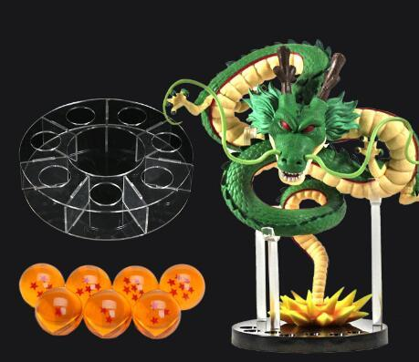 Anime Dragon Ball 7 bola de cristal na mão para fazer o diâmetro de 4 cm Boxed Set 50 set / lot frete grátis!