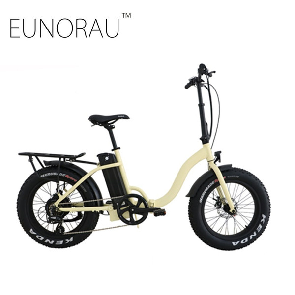 Free shipping USA CANADA High Speed Fat tire electric bike 20 inch folding electric bicycle