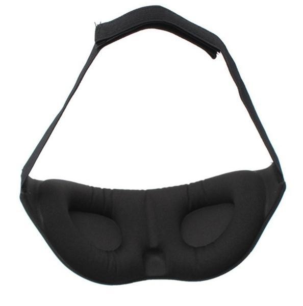 Hohe qualität 3D Memory Foam Padded Schatten Abdeckung Reise Rest Schlaf Augenmaske Eyeshade Schlaf Augenbinde Augenklappe Hilfe Entspannen