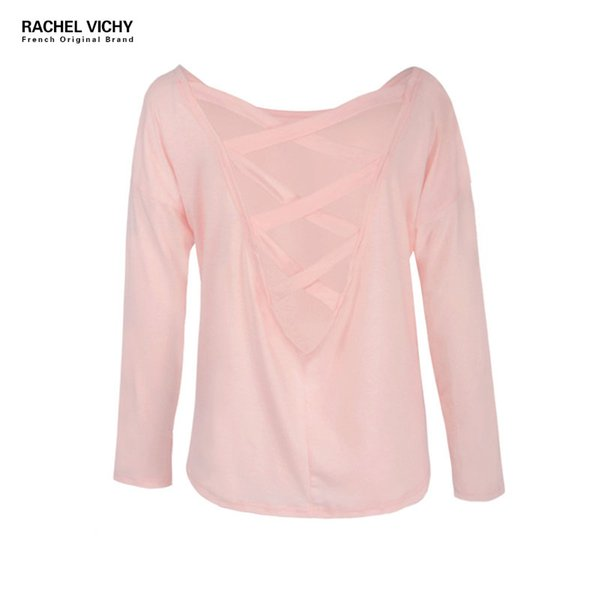 Long sleeve cotton t-shirt Vichy  UK Designer sweater sexy topstees riverdale vintage kawaii korean clothing za.fu.l RV0276
