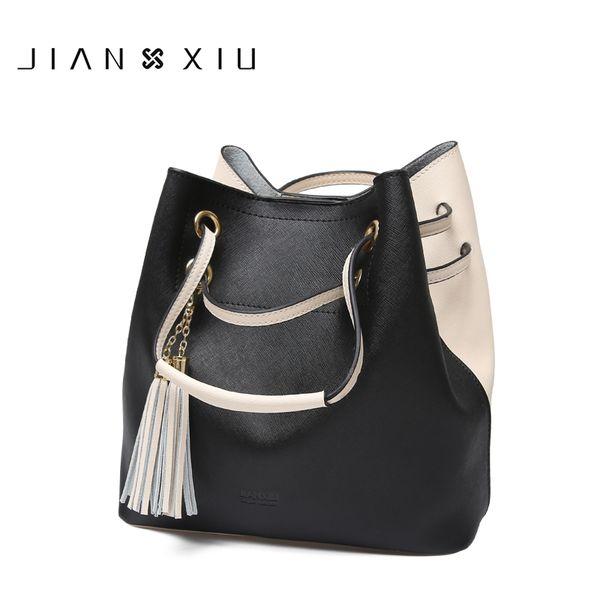Frauen Messenger Bags Schulter Echtem Leder Composit Tasche Bolsas Bolsa Sac Femme Bolsos Mujer Eimer Carteras Mujer De Hombro