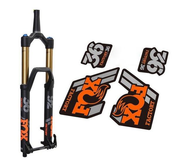 2018 High Quality Fox 36 Fork Frame Protection Stickers for MTB Mountain Bike Biycle Front Fork FOX 36 Replacement Racing Dirt Decals