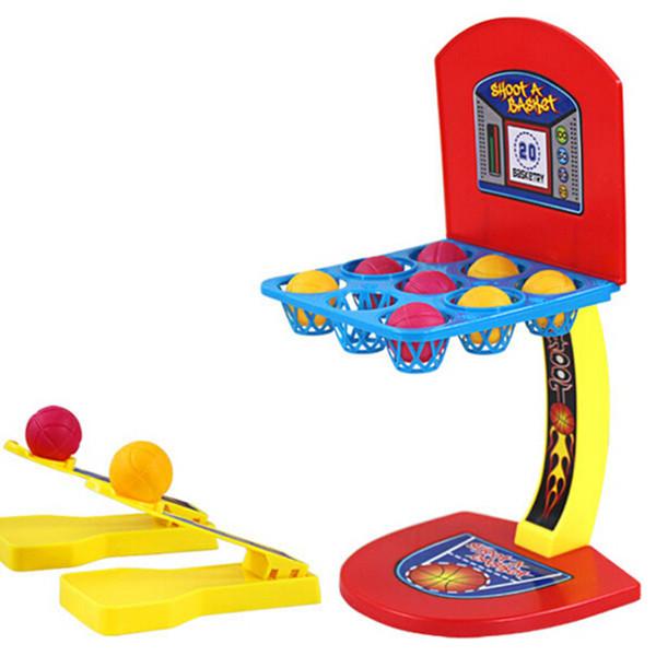 1 Juego Hoodle Shooter Shooting Desktop Baloncesto Juego de aprendizaje Padre niño Familia Diversión Juguete educativo para niños Regalos para niños