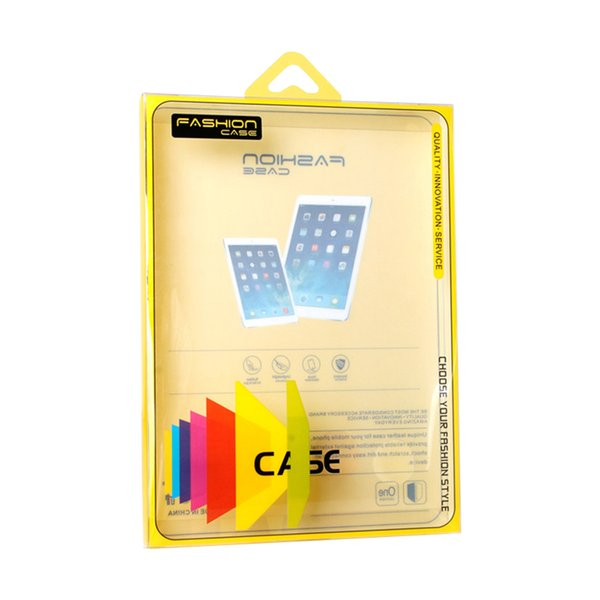 Custom Logo Retail Package Packaging Packing Box Bags Clear PVC Box For iPad Mini Case 9 inch Tablet Cover